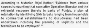Rajni Kothari revelation