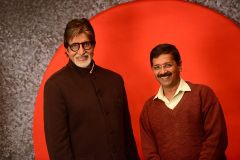 Amitabh with Arvind