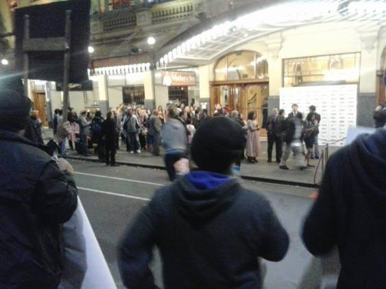 Protest in Melbourne against Amitabh-2