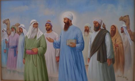 Guru-Nanak-in-Mecca