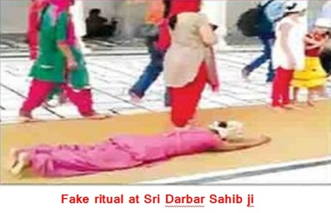 Fake ritual