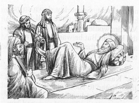 Guru Nanak at Mekka-1