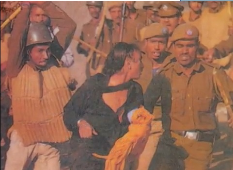 Brutality on women by Indian forces