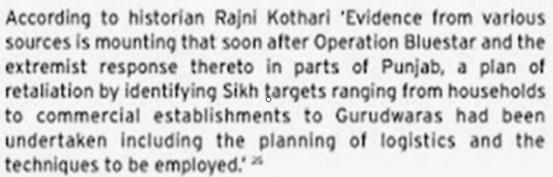 Rajni Kothari on 1984