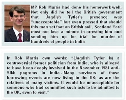 Rob Morris on Jagdish tytler