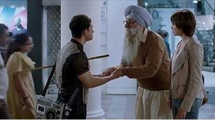 Beggar Sikh
