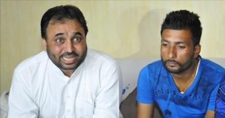 Bhagwant Mann and Harjit Masih