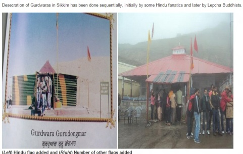 Desecration of Gurudwara Dongmar in Sikkim-1