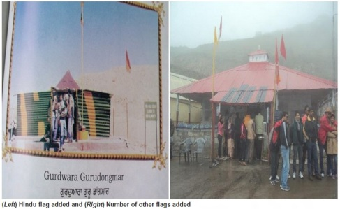 Desecration of Gurudwara Dongmar in Sikkim-4