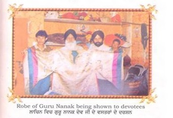 Robes of baba Nanak at Lachen