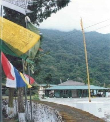 Sikkim-gurudwara at Lachen