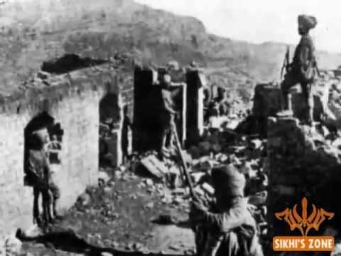 Saragadhi fortress next day