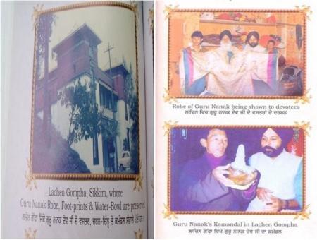 Gurus belongings with Lachen Monastry