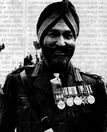 Major General Shabeg Singh