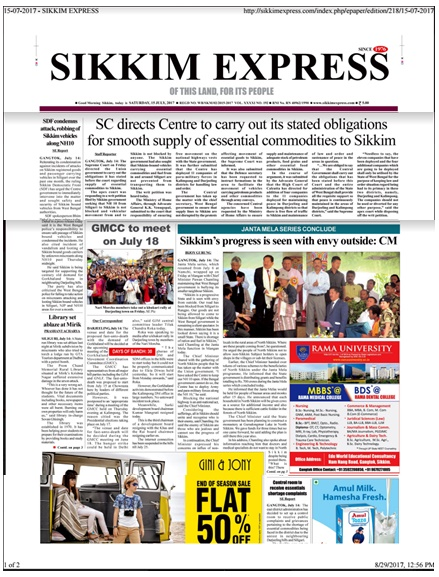 Sikkim News-1