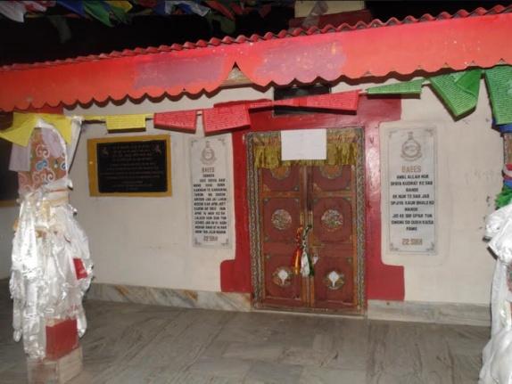 Attempt to occupie Gurudwara by Lamas
