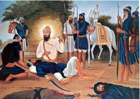 Guru sahib Tearing Bedava